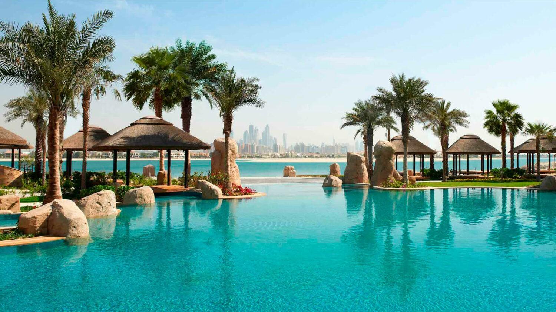 sofitel dubai the palm-lagoon-pool