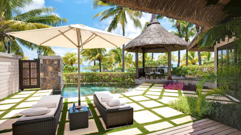 LUX* belle mare-beach-beachfront-villa