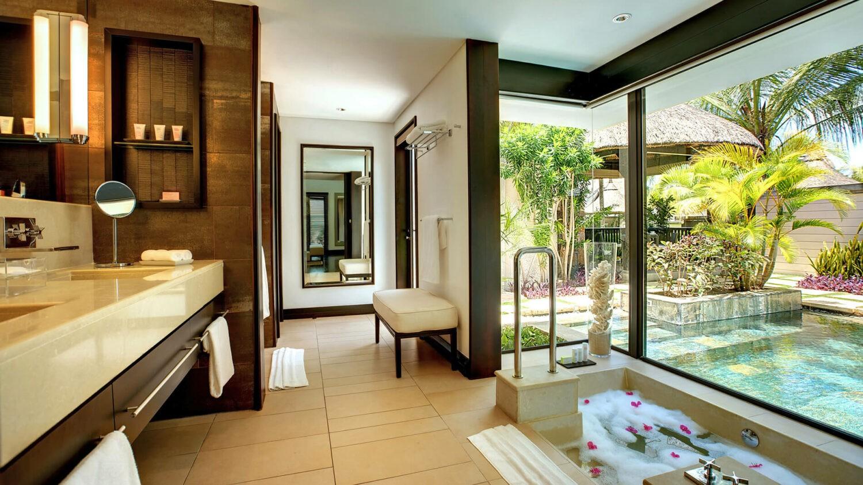 LUX* belle mare-villa-bathroom