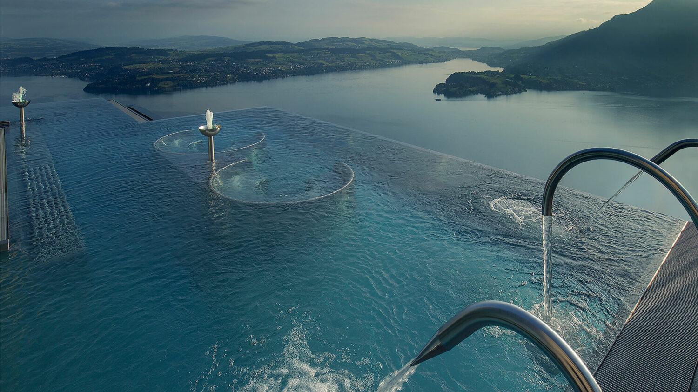 bürgenstock hotels and resort switzerland-infinity-pool