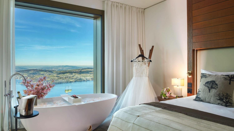 bürgenstock hotels and resort switzerland-wedding-dress