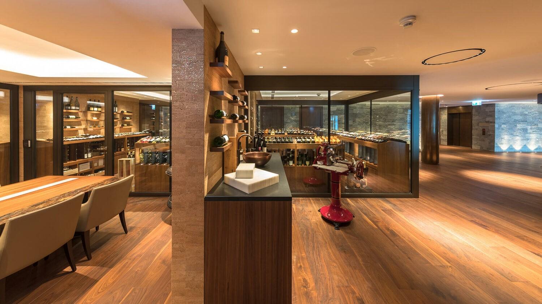 bürgenstock hotels and resort switzerland-wine-cellar