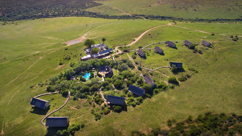 gorah elephant camp south africa-aerial-view