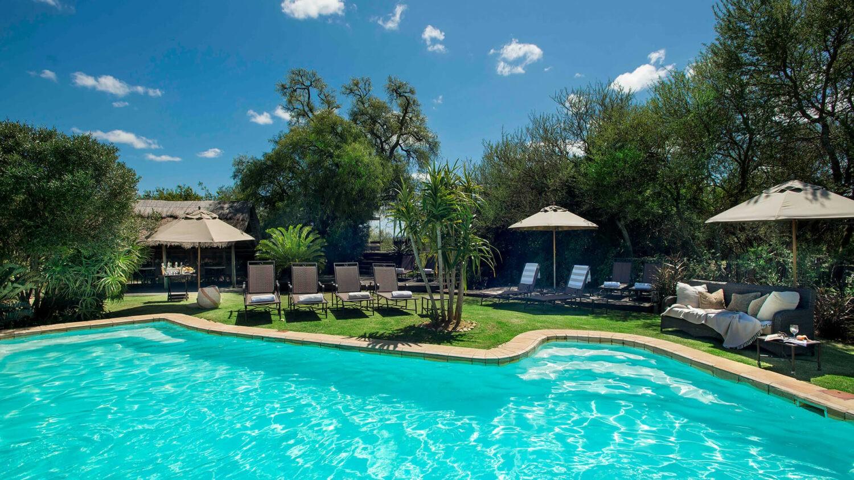 gorah elephant camp south africa-pool-area