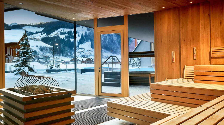 Das Edelweiss Hotel Sauna