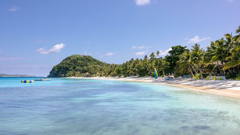 kokomo private island resort-beach