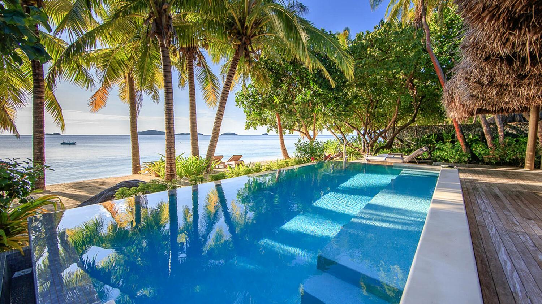 kokomo private island resort fiji-pool-villa