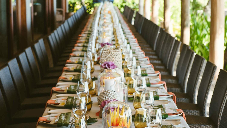 kokomo private island resort fiji-wedding-setup