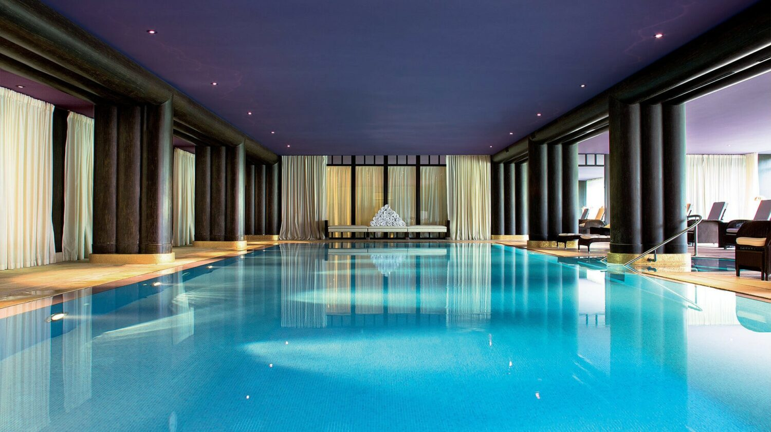 la réserve genève-hotel and spa-fitness-indoor-pool