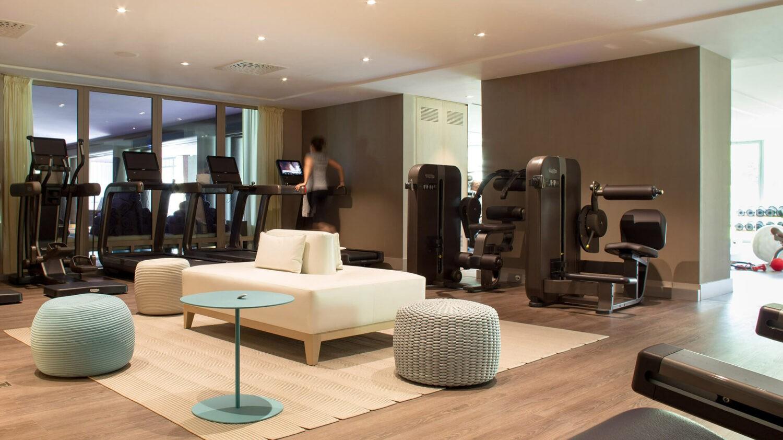 la réserve genève-hotel and spa-fitness-lounge