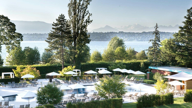 la réserve genève-hotel and spa-pool-park