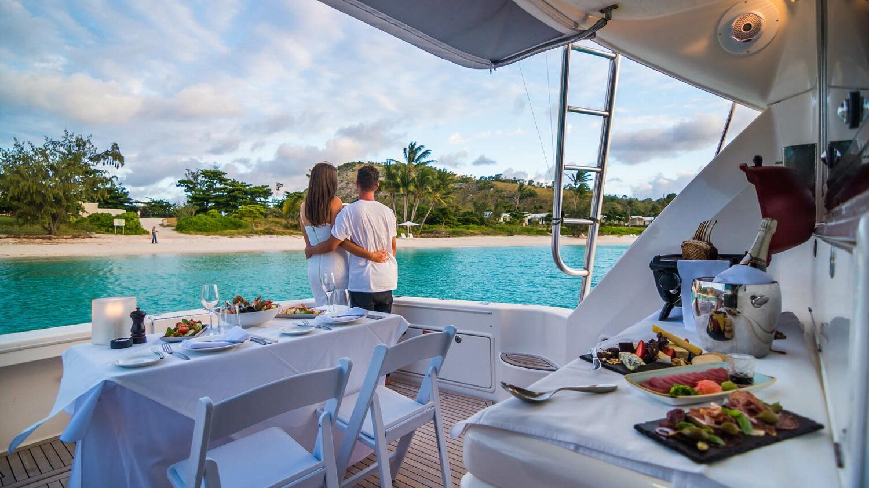 lizard island resort australia-charter-dining