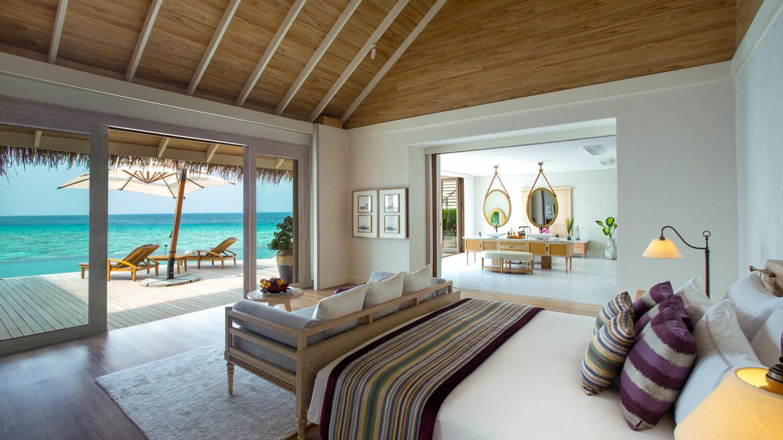 milaidhoo island maldives-bedroom