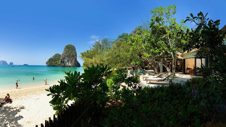 rayavadee krabi thailand-phranang-beach