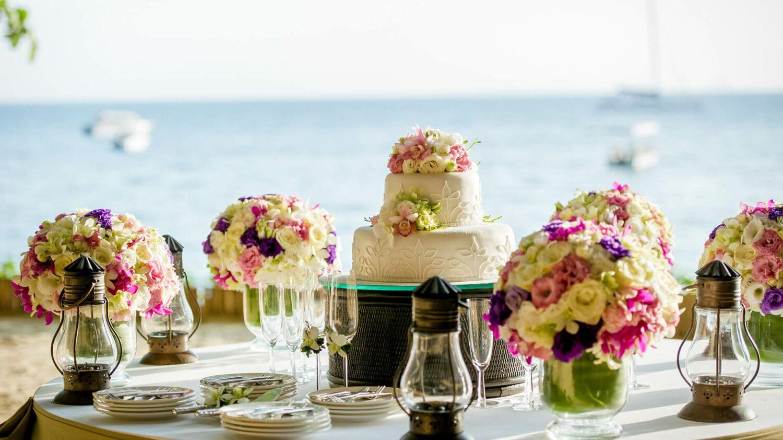 rayavadee krabi thailand-wedding-cake