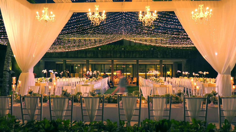 soori bali-wedding setup