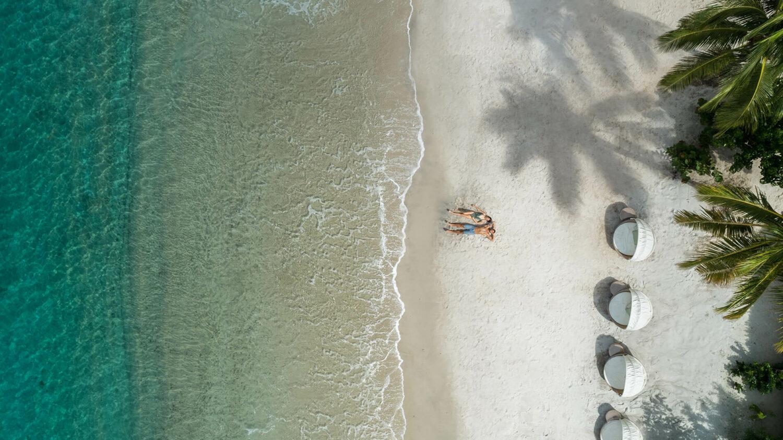 sugar beach- a viceroy resort st.lucia-beachside