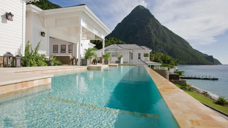 sugar beach- a viceroy resort st.lucia-pool