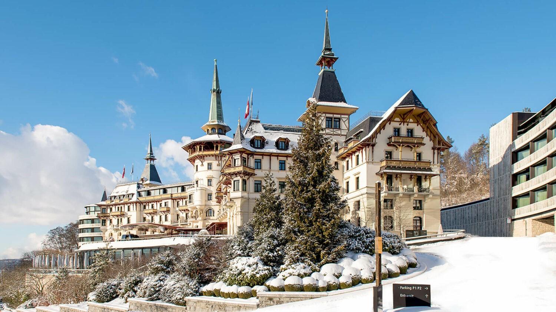 the dolder grand-facade-hotel
