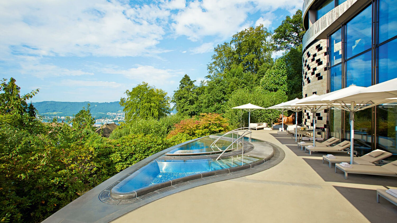 the dolder grand-spa-terrace-pool