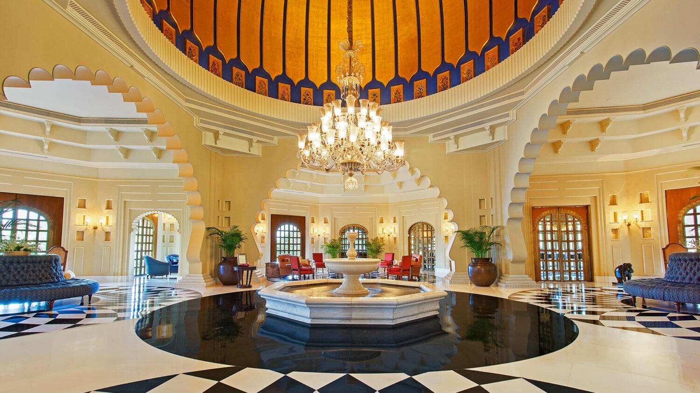 the oberoi udaivilas india-lobby