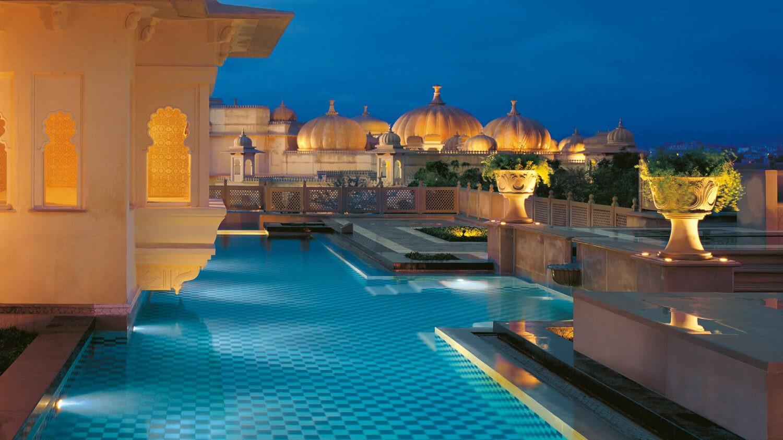 the oberoi udaivilas india-pool-area