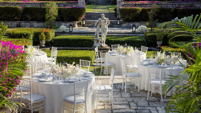 the ocean club four seasons resort bahamas-wedding-setup