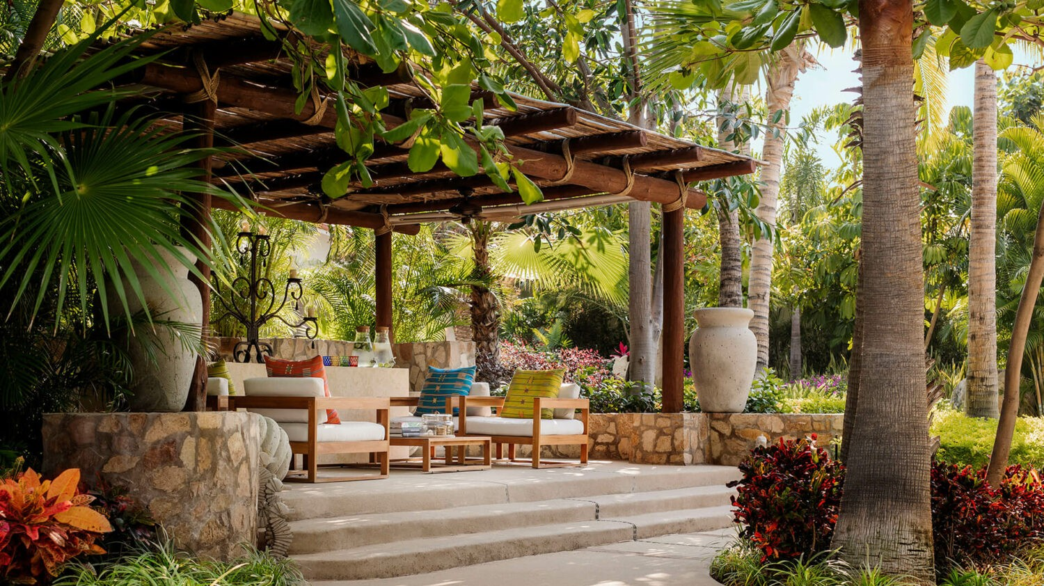 the one and only palmilla los cabos-lounge-garden