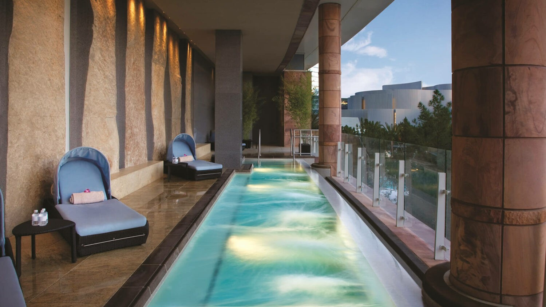 ARIA resort & casino las vegas-balcony-pool