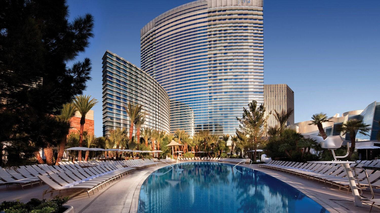 ARIA resort & casino las vegas-exterior