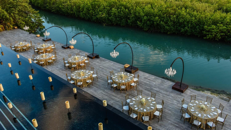 NIZUC resort & spa mexico-wedding-setup