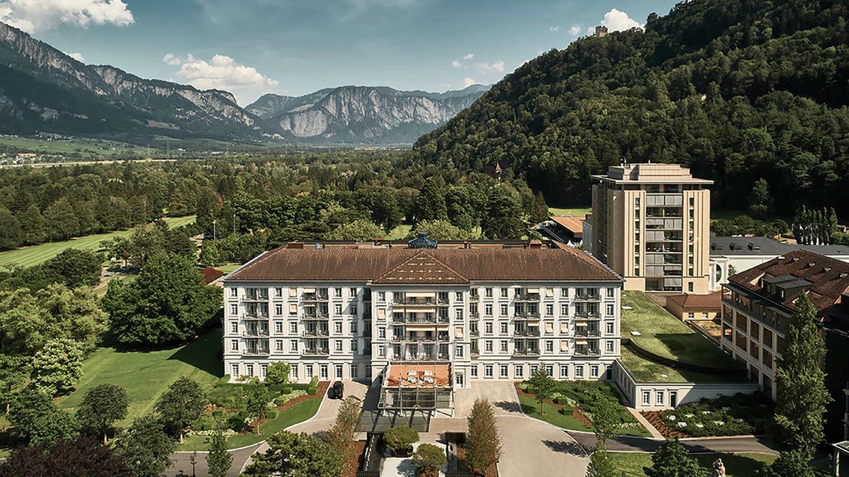 grand resort bad ragaz-facade