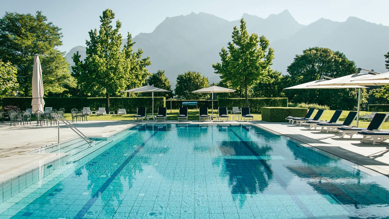 grand resort bad ragaz-pool