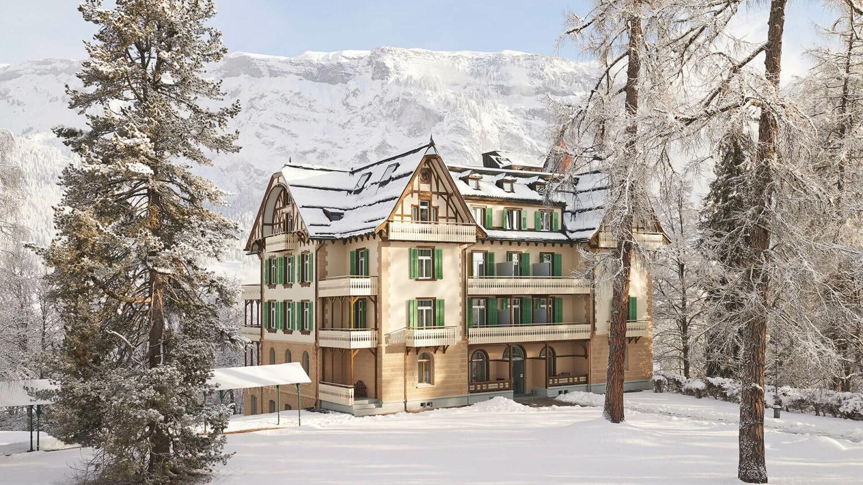 walthaus-flims-winter-location-building