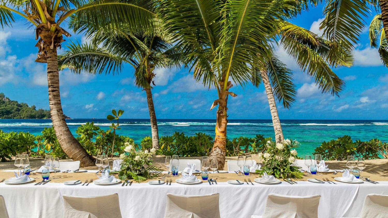 kempinski seychelles resort-setup-table