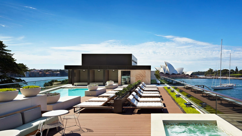 park hyatt sydney-rooftop pool