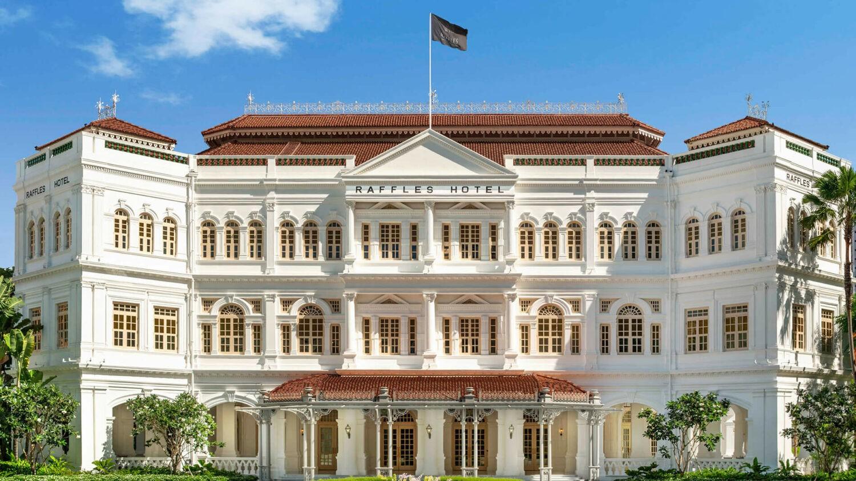 raffles singapore-facade
