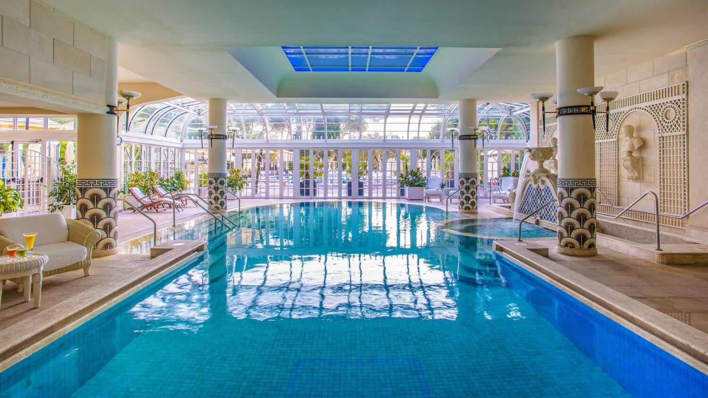 rome cavalieri, a waldorf astoria resort-indoor-pool