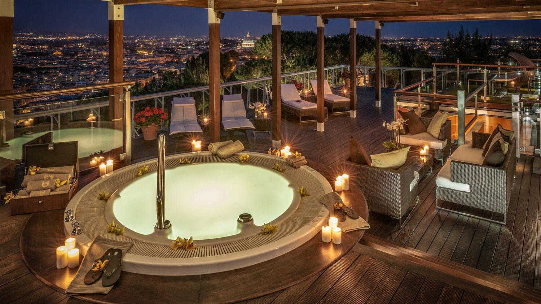 rome cavalieri, a waldorf astoria resort-rooftop