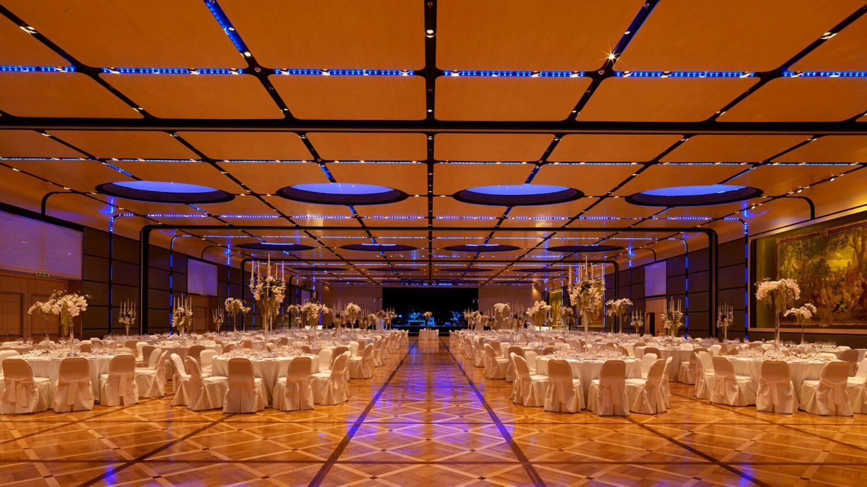 rome cavalieri, a waldorf astoria resort-wedding-setup
