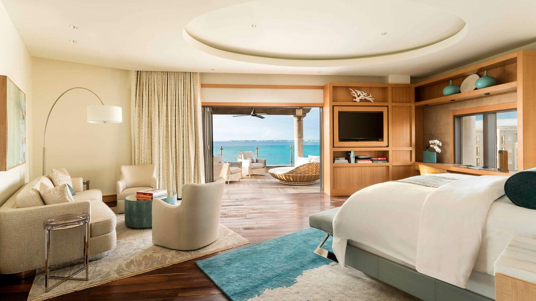 the ritz-carlton, grand cayman-master-suite