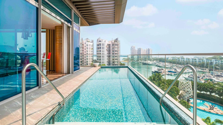 w singapore – sentosa cove singapore-plunge-pool