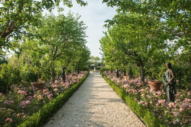 Borgo-Santo-Pietro Lake-Path