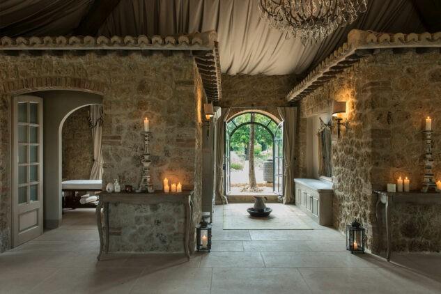 Borgo-Santo-Pietro Spa-Interior