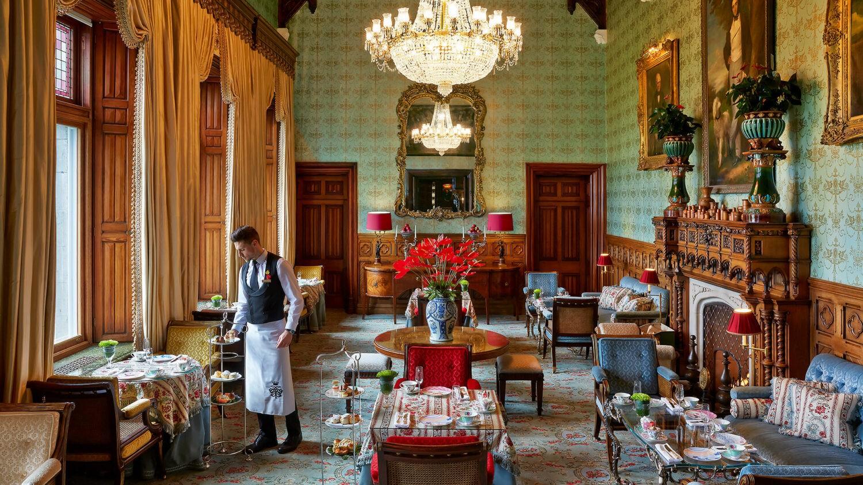 Ashford-Castle-afternoon-tea-salon