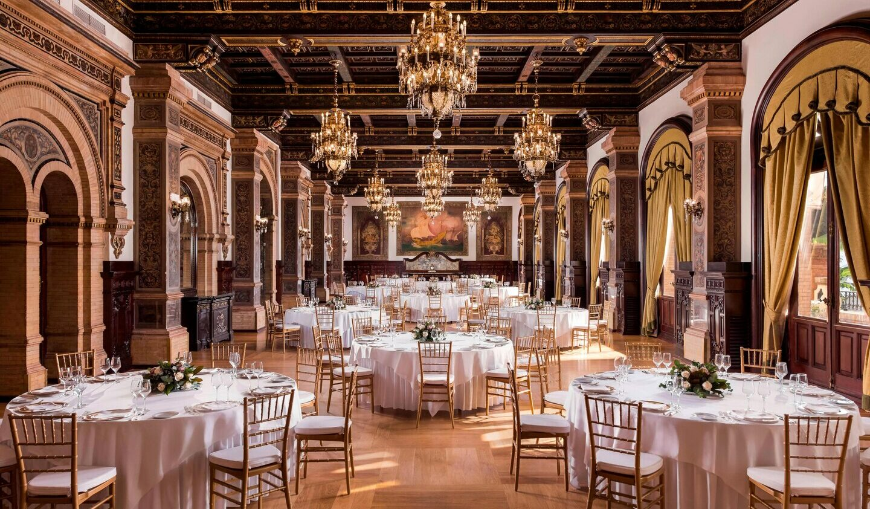 Hotel_Alfonso_XIII-banquet