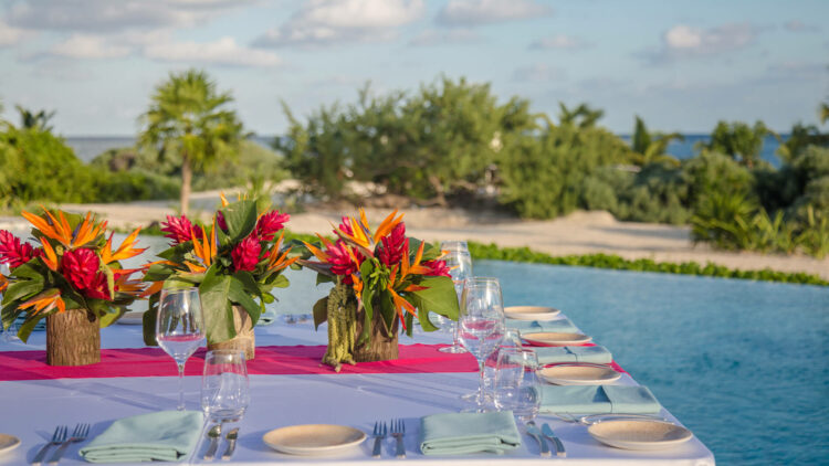 Chablé_Maroma-pool-dinner