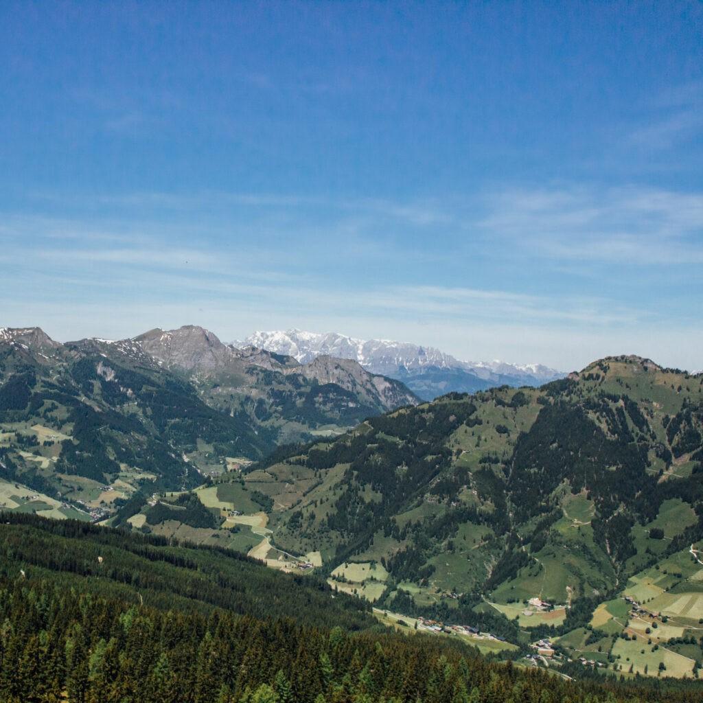 das_edelweiss_location_grossarl_view_mountains
