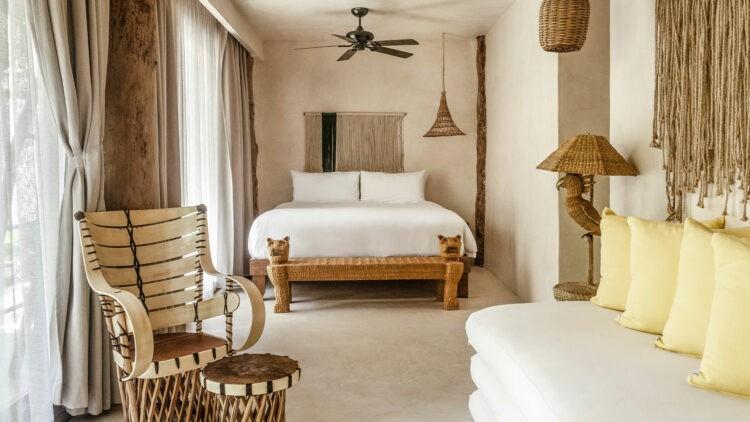 La-Valise-Tulum_Junior-Suite_Lower-bedroom